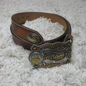 Tony Lama Centennial 100 Year Anniversary belt